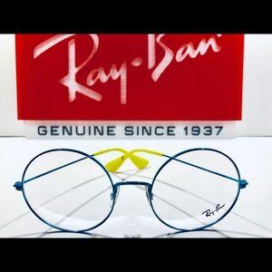Ray-Ban Eyeglasses JA-JO Sky Blue w/ Yellow New 53